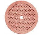 "Sanding Discs 6"" Multi Hole Clean Air Premier Red Grip-On 150 Grit  Carborundum 99540"