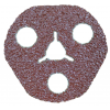 "Resin Fibre Disc 4-1/2"" x 7/8"" Premier Red E-Z View Disc Carborundum 36 Grit 4-1/2"" Resin Fibre Discs"