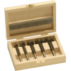 BORCT-SET-5A 5 Piece Metric Carbide Tipped Forstner Bit Set Bormax 15-20-25-30-35mm Forstner Bits