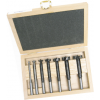 "BORMAX-7 7 Piece Forstner Bit Set Bormax 1/4""- 1"" In Wood Box Forstner Bits"