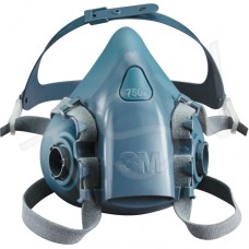 7500 Series Reusable Half Facepiece Respirators (Large) Dust Masks, Respirators & Related Accessories