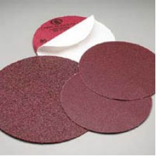 "Sanding Disc 8"" Diameter No Hole PSA Sticky Back Zirconia 40 Grit Carborundum 21304 8"" Sticky Back"