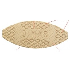#10 Wood Biscuits  1000 Pcs Dimar BJ10 Wood Products