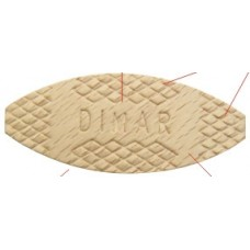 #20 Wood Biscuits  1000 Pcs Dimar BJ20 Wood Products