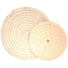 "8"" x 1/2"" Arbor Full Disc Cloth Sisal Buff"