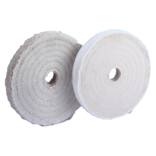 "3""x1/4"" Cotton 40-Ply Super Thick Full Disc Buff Buffs"