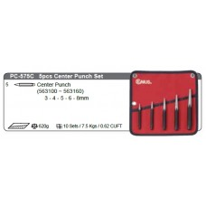 5pc Centre Punch Set
