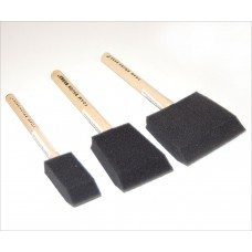 "1"" Poly Foam Brush Paint Brushes & Accessories"