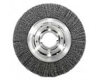 "Wire Wheel 10"" Diameter 2"" Arbour Hole .020 Gauge Crimped"