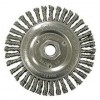 "Wire Wheel 5"" Diameter with 5/8-11 Arbour Hole .020 Gauge Stringer Bead (Stainless Steel) Wire Wheels"