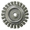 "Wire Wheel 4-7/8"" Diameter with 5/8-11 Arbour Hole .023 Gauge Stringer Bead Knotted (Stainless Steel) Wire Wheels"