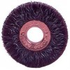 "Encapsulated Wheel Brushes 3"" Diameter 1/2"" Arbour Hole .014 Gauge Wire Brushes - Hand & Mandrel Mount"