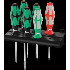 334/368/6 Screwdriver Set & Rack 6-Piece Screwdrivers