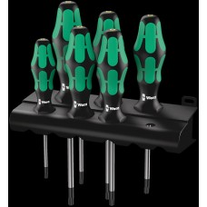 367/6 TORX® BO Kraftform Plus screwdriver set and rack 6-Piece Screwdrivers