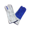 Blue / Grey Welders One Finger Mitt