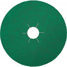 "Resin Fibre Disc 4-1/2"" x 7/8"" CS570 Zirconia with Grinding Aid 36 Grit Klingspor 204086 4-1/2"" Resin Fibre Discs"