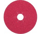 "Resin Fibre Disc 5"" x 7/8"" FS964 ACT Ceramic 50 Grit Klingspor 330488"