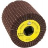 "Abrasive Mop 4-1/2"" Diameter 4"" Long with 3/4"" Arbour Hole NCW600 100 Grit (Medium) Klingspor 320247 Flap Drums"