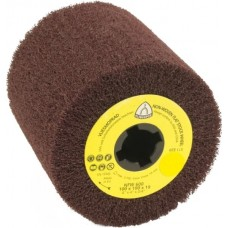 "Nonwoven Flap Roll 4-1/2"" Diameter 4"" Long with 3/4"" Arbour Hole NFW600 (Medium) Klingspor 320254"