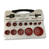 17pc Prof. Hole Saw Kit