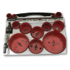 18pc Plumber Hole Saw Kit