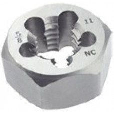 List No. 126QI - 1/2-13 Hex Rethreading Die Carbon Steel Clearance Section
