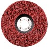"E-Z Strip Disc 7"" Diameter x 7/8'' Arbour - Silicon Carbide Red  Surface Conditioning Discs"