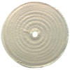 "6 x 1/4'' 1/2"" Bore (20 Ply) - Cotton Sewed Type Buffing Wheel"