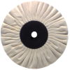 6 x 1/2'' (15 Ply) - Cotton Bias Type Buffing Wheel