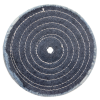 10'' - Spiral Sewn Denim Buffing Wheel