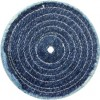 "8"" Spiral Sewn Denim Buffing Wheel"