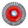 "Original Stringer Bead Wire Wheel - Mild-Steel - 4-1/2"" x 5/8""-11 - 12,500 rpm - Clamshell Pkg"