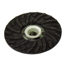 "Back Up Pad for Resin Fibre Disc Spiral Cool Face Resin Fibre Disc 5"" Diameter 5/8""-11 Arbour Hole"