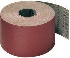 "Roll 4"" Wide x 50 Meters Long CS311Y Polyester Backed Aluminum Oxide 100 Grit Klingspor 235570"