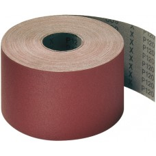 "Roll 3"" Wide x 50 Meters Long CS311Y Polyester Backed Aluminum Oxide 80 Grit Klingspor 260886 Cloth Backed Rolls"