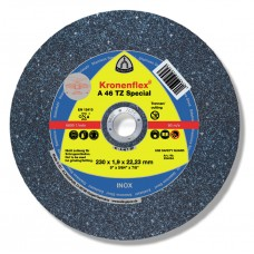 "Cut Off Type 27 (Depressed Center) 6 X 1/16(1.6mm) X 7/8 A46TZ for Steel & Stainless Steel Klingspor 263882 6"" Cut Off Wheels"