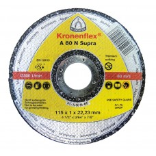 "Cut Off Type 1 (Flat) 4-1/2 x .040(1mm) x 7/8 A60N for Aluminum Klingspor 264297 4-1/2"" Cut Off Wheels"