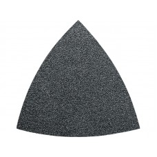 63717084013 Triangular Velcro Sandpaper - Aluminum Oxide 100 grit - 50-PACK Sanding Accessories for Oscillating Tools