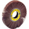 "Flap Wheel 6"" Diameter 2"" Wide With 1"" Arbour Hole SM611 Aluminum Oxide 40 Grit Klingspor 289118 Non-Mounted Flap Wheels"