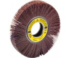 "Flap Wheel 6"" Diameter 1"" Wide With 1"" Arbour Hole SM611 Aluminum Oxide 120 Grit Klingspor 280606"