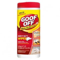 "Goof Off 10"" x 12"" Wipes  Cleaning Products"