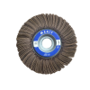 "Flap Wheel 6"" Diameter 1-1/2"" Wide With 1"" Arbour Hole 120 Grit Non-Mounted Flap Wheels"