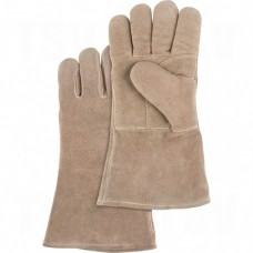 Welders' Premium Quality Foam Lined Gloves Size Large Hand Protection