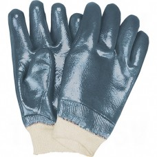 Heavyweight Nitrile Fully Coated Knit Wrist Gloves Large (9) Non-Knit Cotton Nitrile     Synthetic Gloves