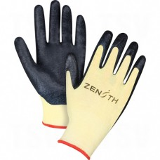 Nitrile Coated Kevlar Gloves Large (9) 13 Gauge Kevlar EN 388 Level 4 Nitrile     Synthetic Gloves