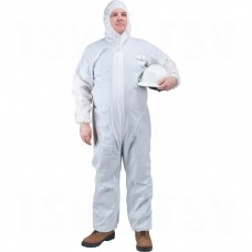 Microporous Protective Clothing Polypropylene Microporous X-Large White       Disposable Protective Clothing