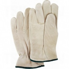 Grain Cowhide Drivers Gloves Small Unlined Grain Cowhide Keystone      Leather Gloves