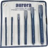 6-Piece Cold Chisel Set Number of Pieces 3 Hammers Chisels Pry Bars