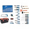 56-Piece Deluxe Tool Set with Steel Chest and Cart Number of Pieces 56 Tool Storage and Sets