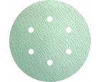 "Sanding Disc 6"" 6 Hole Pattern Velcro PS73 Specially Coated Aluminum Oxide 400 Grit Klingspor 301228"